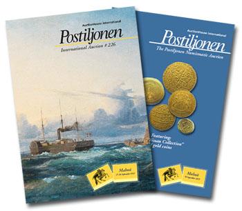 Postiljonen international stamp auction house in Scandinavia